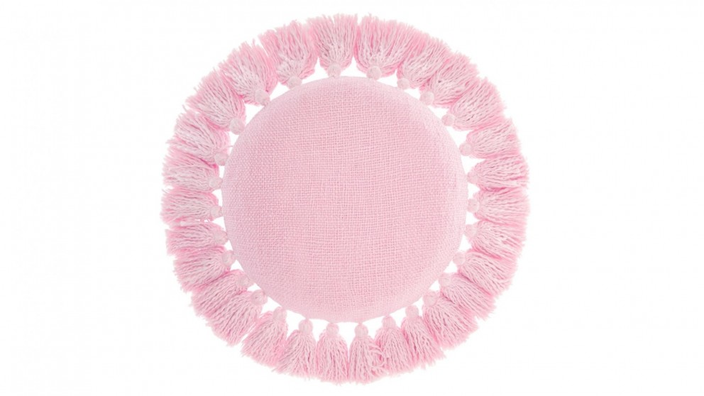 Florida Round Cushion - Peach