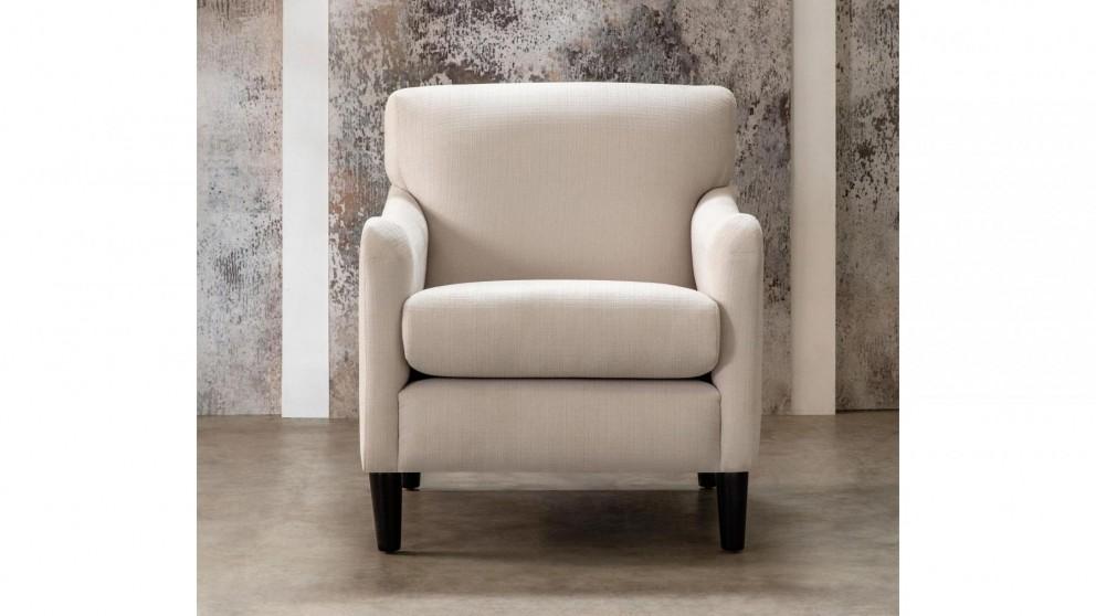 Buy Ainsley Fabric Armchair Domayne Au