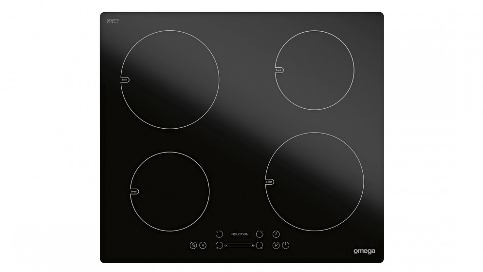 Omega OI64Z 600mm 4 Burner Induction Cooktop