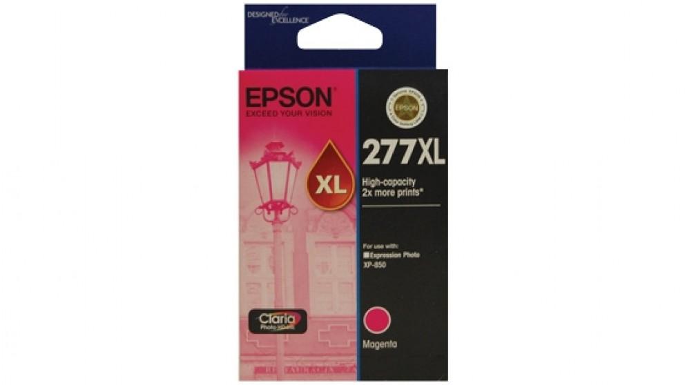 Epson 277XL High Capacity Claria Photo HD Ink Cartridge - Magenta