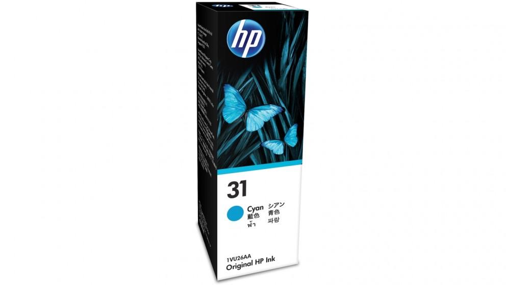 HP 31 Cyan Original Ink Bottle