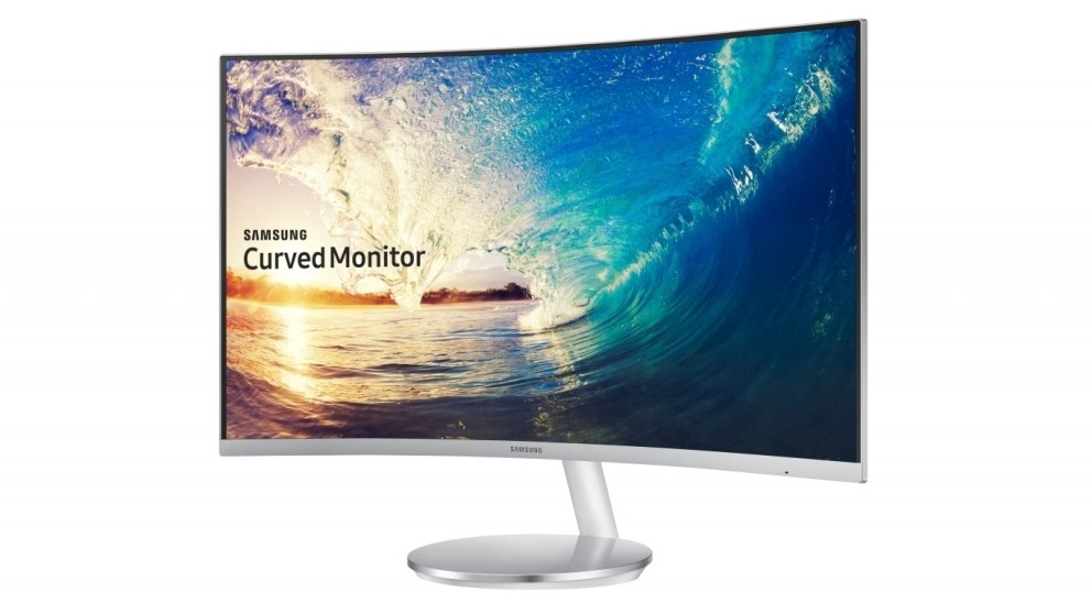 """Samsung 27"""" Curved Monitor - White"""