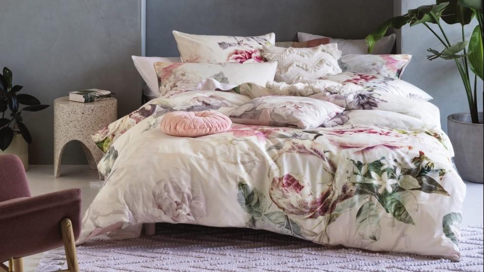 Buy Sansa Ivory Quilt Cover Set | Domayne AU