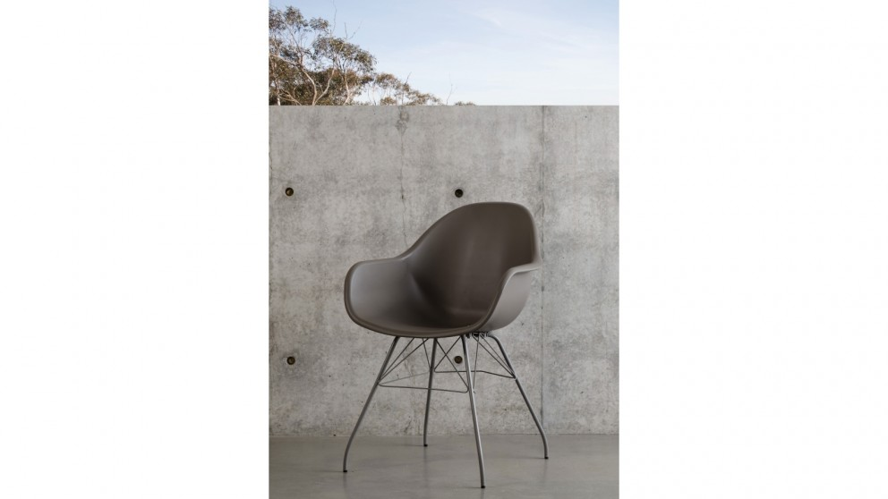 Montpellier Carver Chair - Taupe
