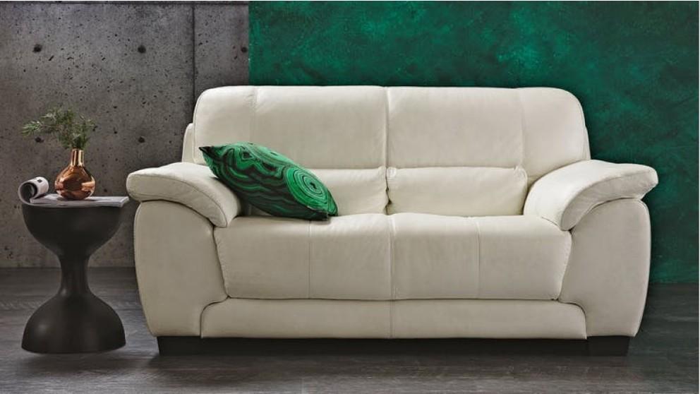 Longbeach Leather Sofa