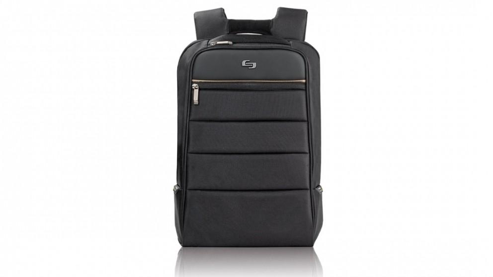 """Solo Transit 15.6"""" Backpack - Black"""