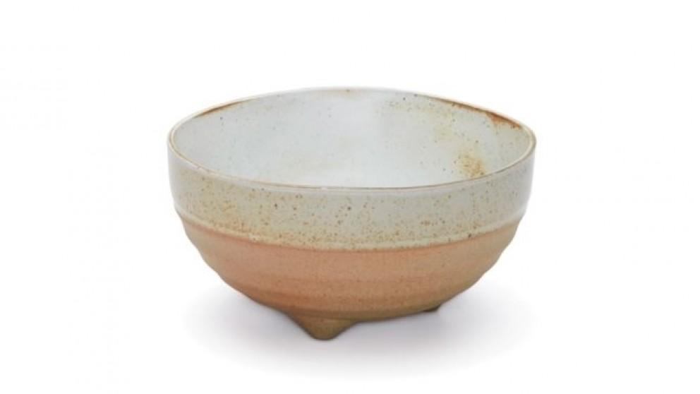 Salt & Pepper Nomad Footed Bowl - White