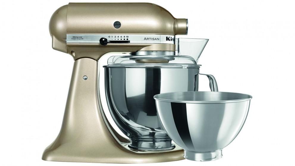 KitchenAid KSM160 Artisan Stand Mixer - Champagne Gold