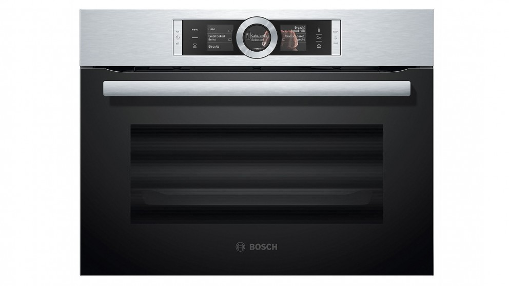 Bosch 600mm 8 Series Combination Steam Oven - Stainless Steel