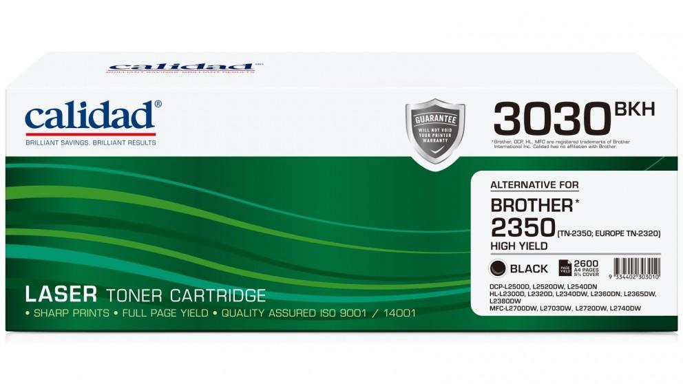 Calidad Brother TN-2350 Ink Cartridge - Black
