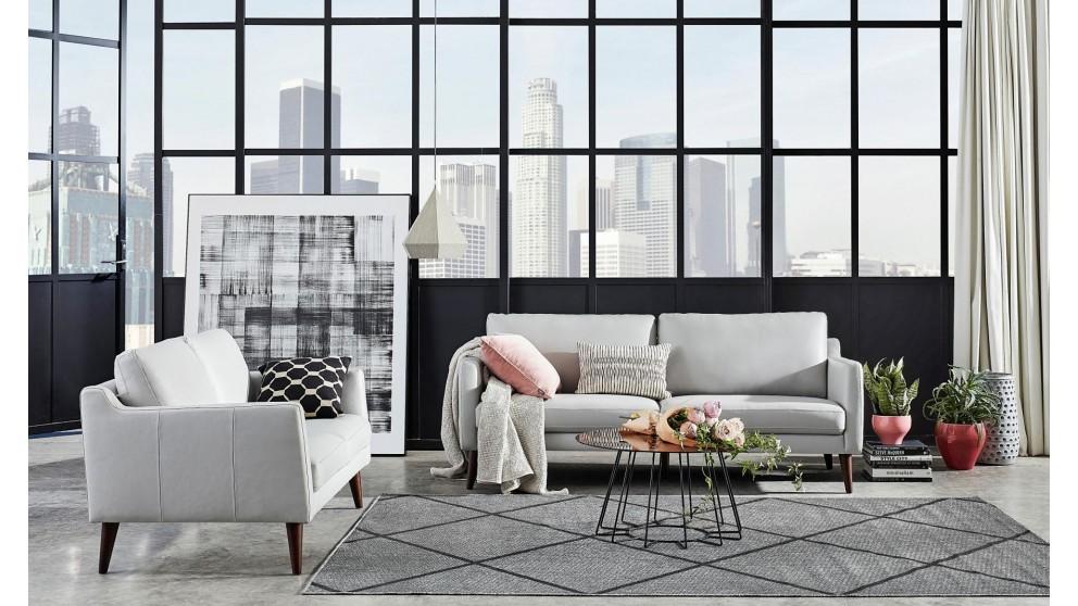 Buy Neiva Leather Lounge Package Domayne Au