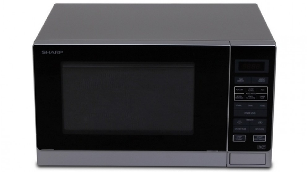 Sharp 900W Midsize Microwave Oven - Silver