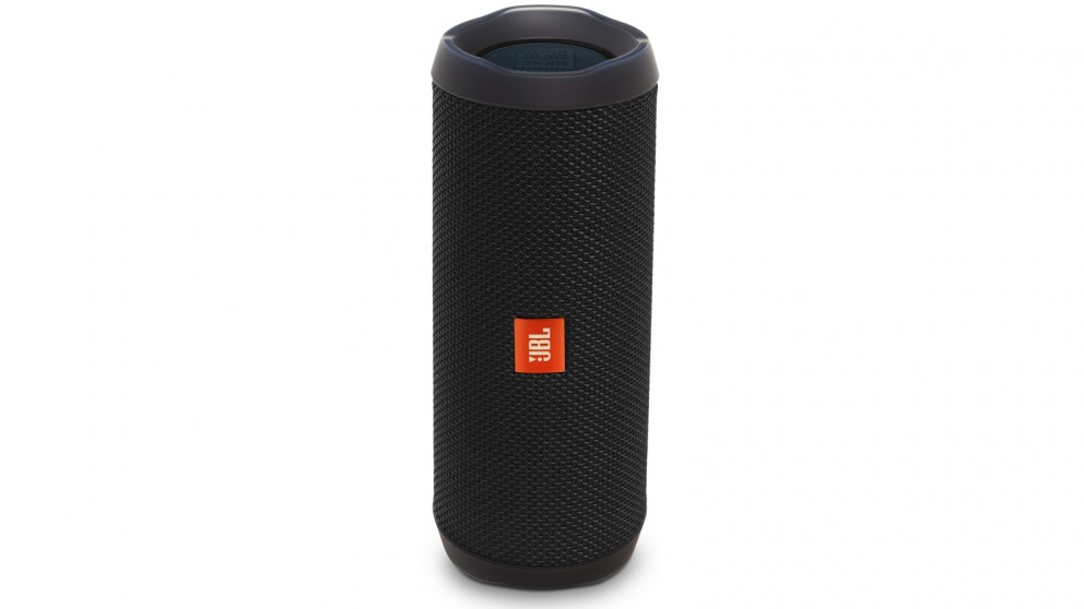 JBL Flip 4 Portable Bluetooth Speaker - Black
