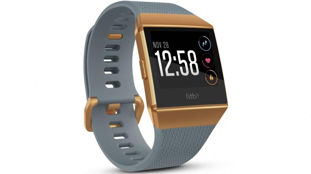 Fitbit Ionic Fitness Watch - Slate Blue/Burnt Orange
