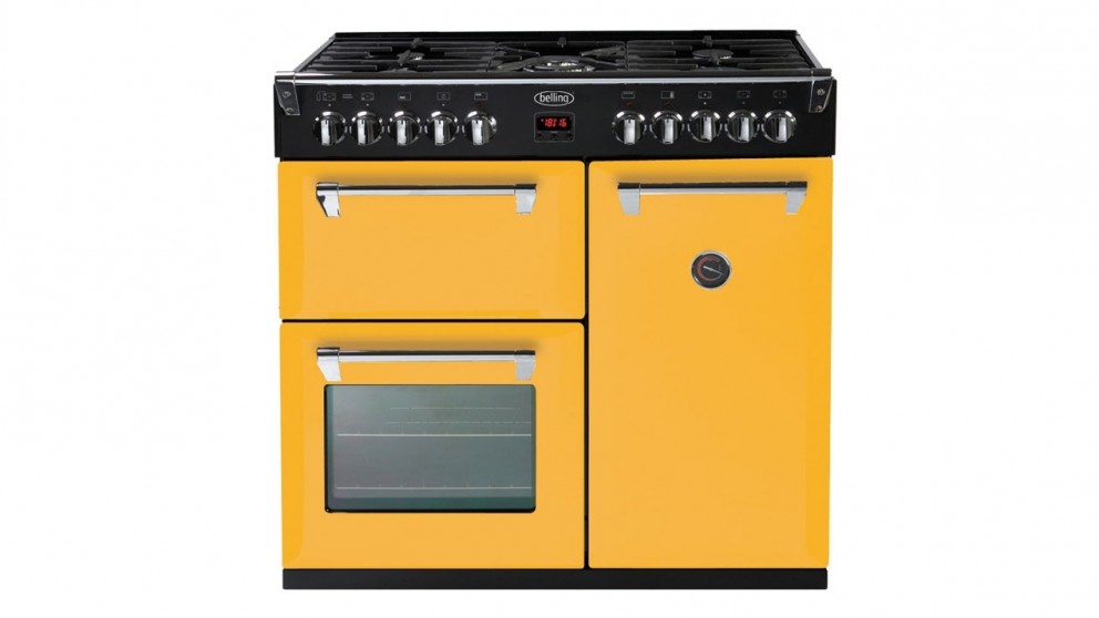 Belling 900mm Richmond Colour Boutique Dual Fuel Range Freestanding Oven - First Bloom