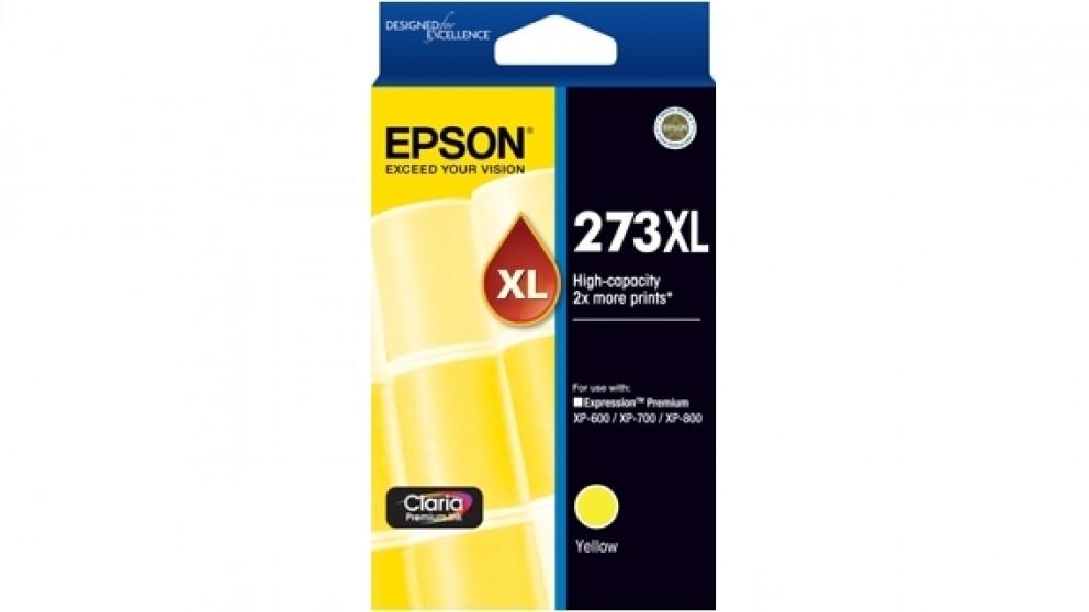 Epson 273XL High Capacity Claria Premium Photo Ink Cartridge - Yellow