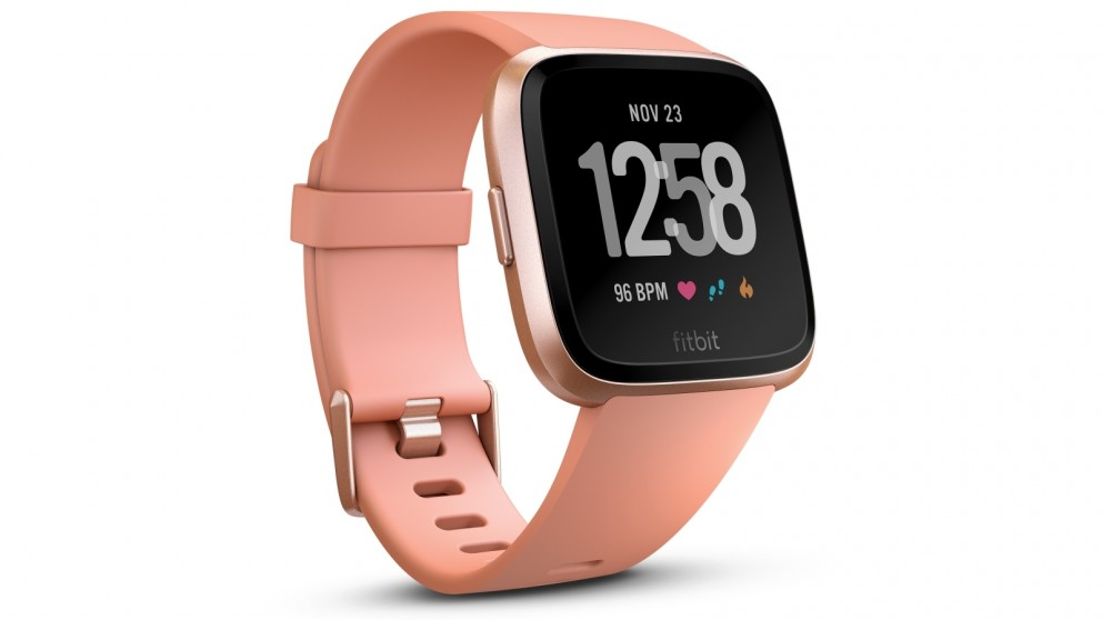 Fitbit Versa Fitness Watch - Peach