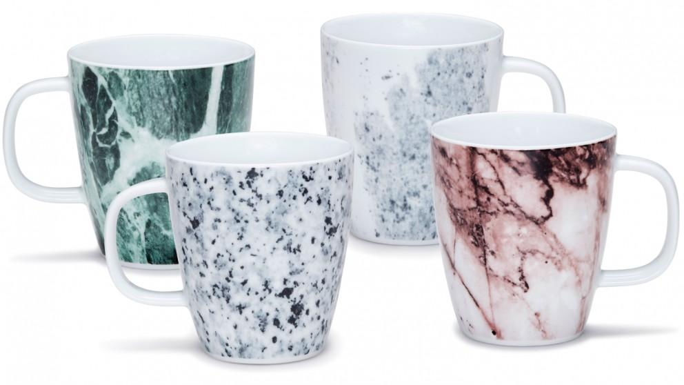 Salt & Pepper Masonry Set of 4 Mugs