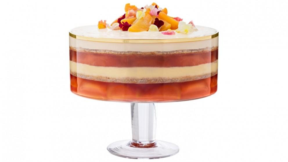 Salt & Pepper Valencia Trifle Bowl