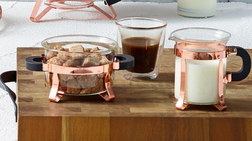 Bodum Chambord Sugar and Cream Set - Copper