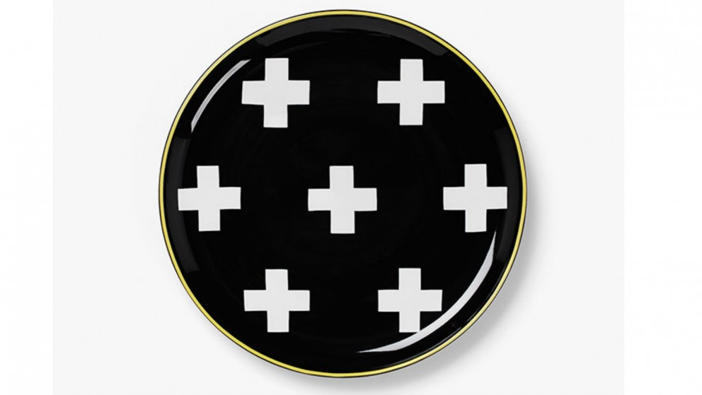 Aura Crosses Tapas Plate
