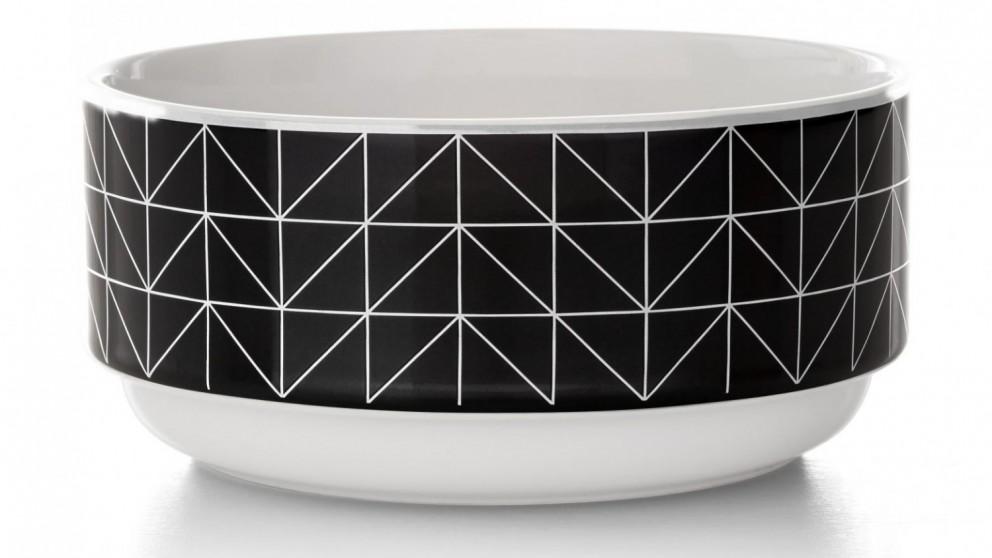 Aura Kami Stacking Bowl - Black/White