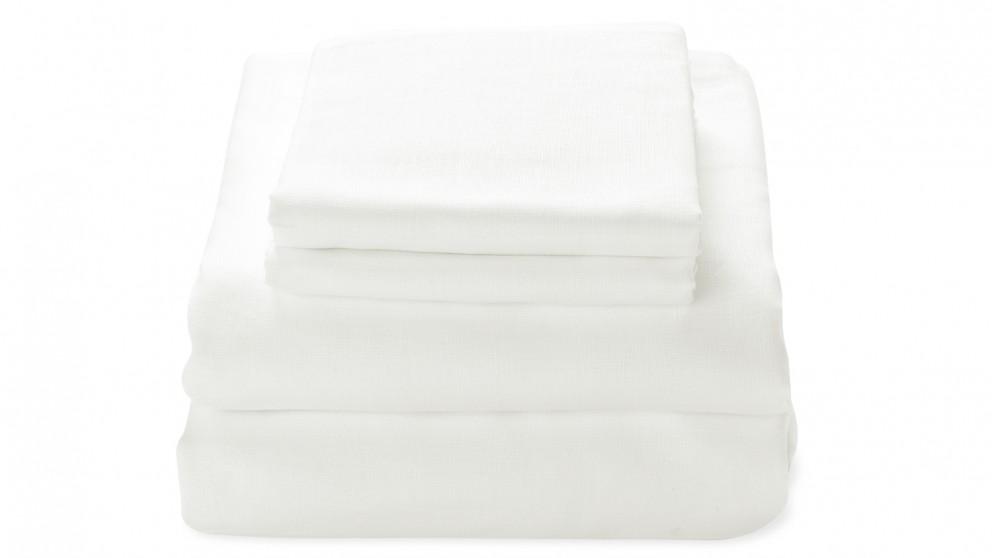 Aura Maison Sheet Set - White