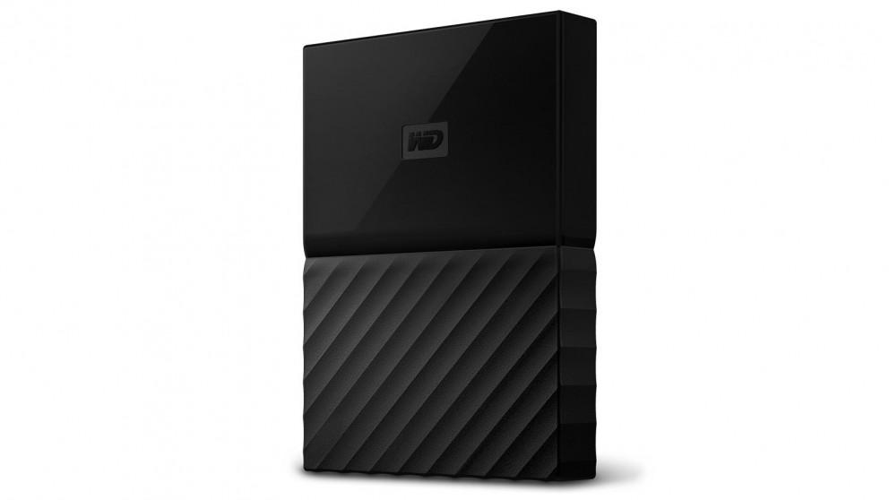 WD My Passport 2017 4TB Portable Hard Drive - Black