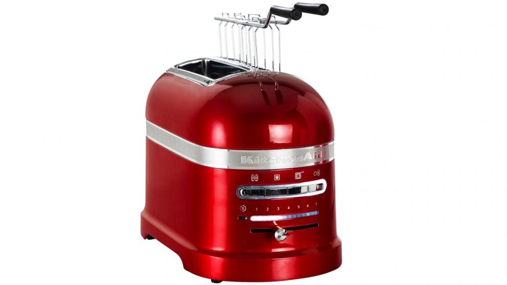 KitchenAid Proline 2 Slice Toaster - Candy Apple Red