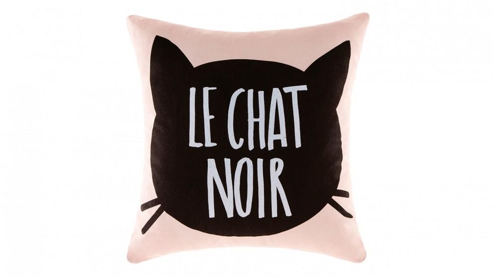 Le Chat Noir Cushion Pink