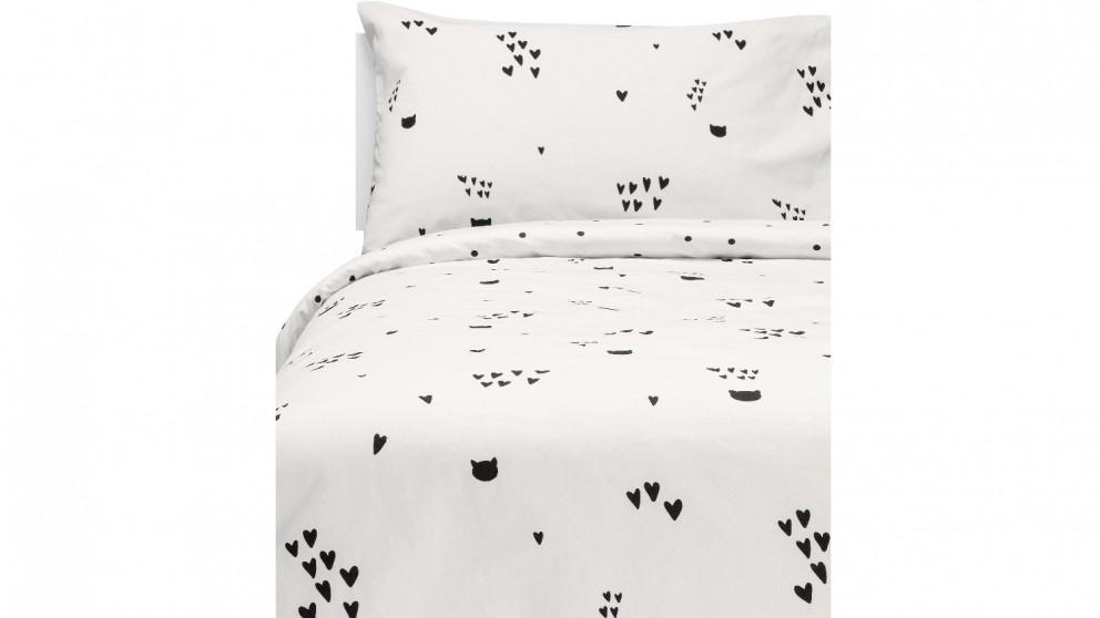 Linen House Le Chat Noir Quilt Cover Set