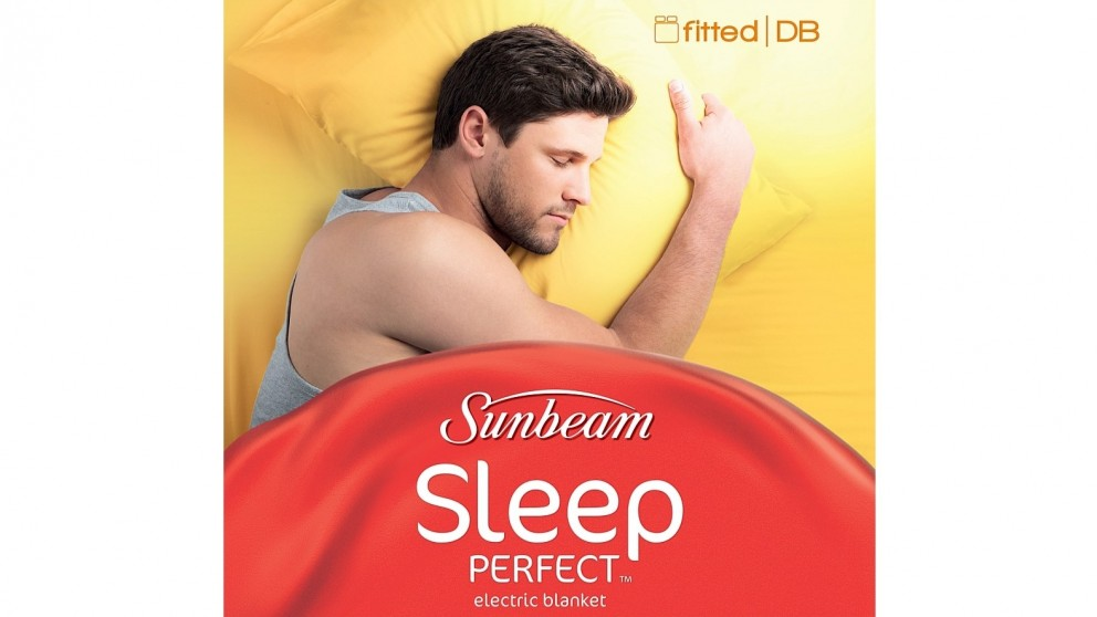 Sunbeam Sleep Perfect Fitted Heated Blanket - Double Bed