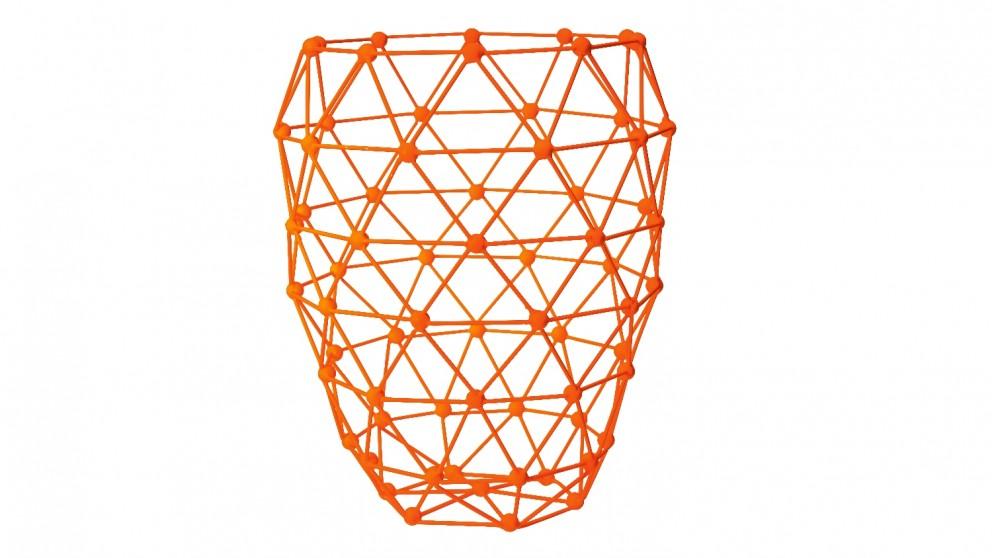 Neo Abstract Vase - Orange
