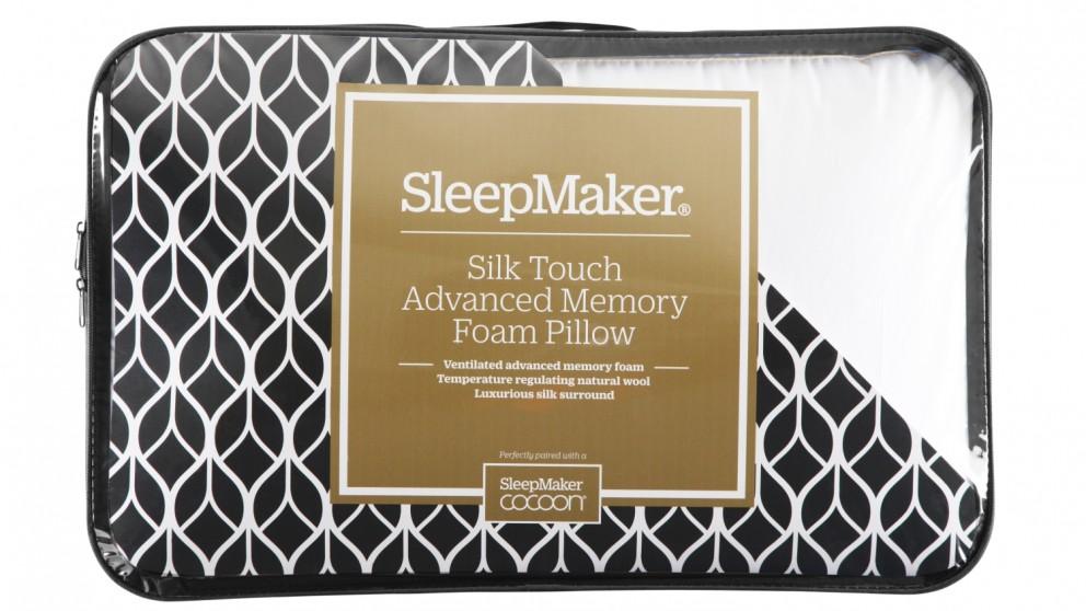Sleepmaker Cocoon Silk Touch Advance Pillow