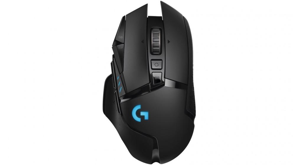 0fd5bfd26bb Buy Logitech G502 LIGHTSPEED Wireless Gaming Mouse   Domayne AU