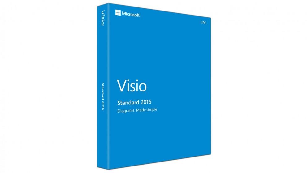 Microsoft Office Visio Standard 2016