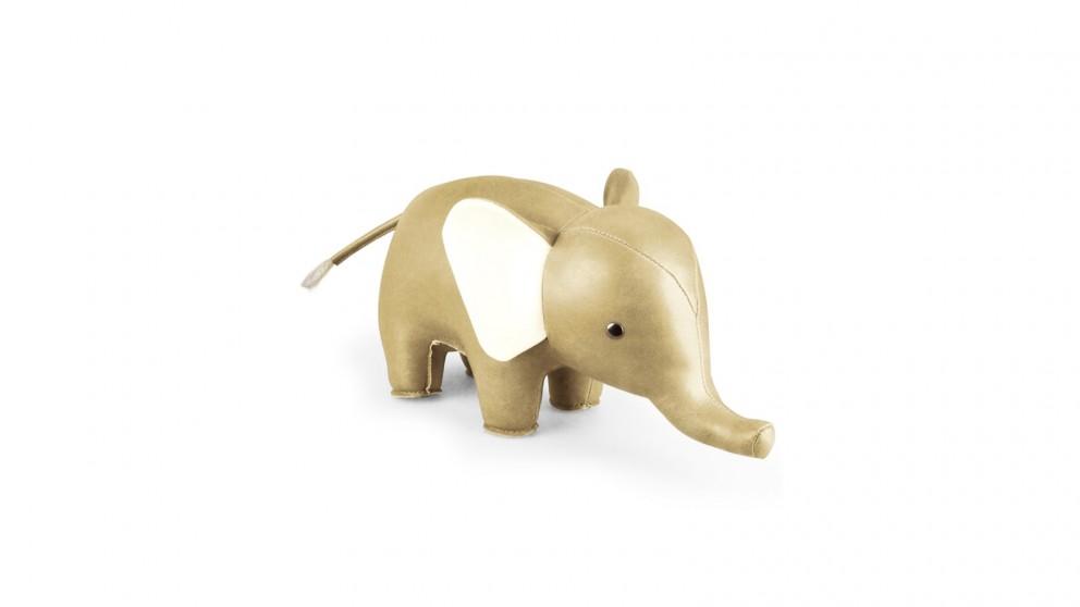 Zuny Shine Elephant Bookend