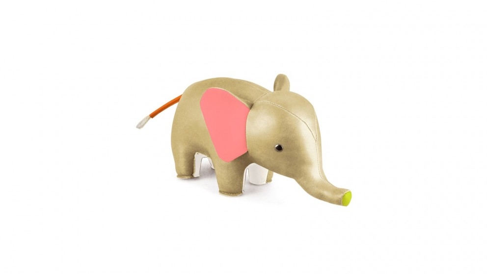 Zuny Colour Elephant Bookend