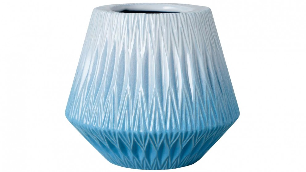 Dye Vase - Blue