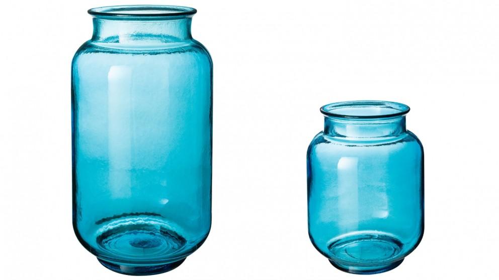 Splash Candle Holder -  Blue