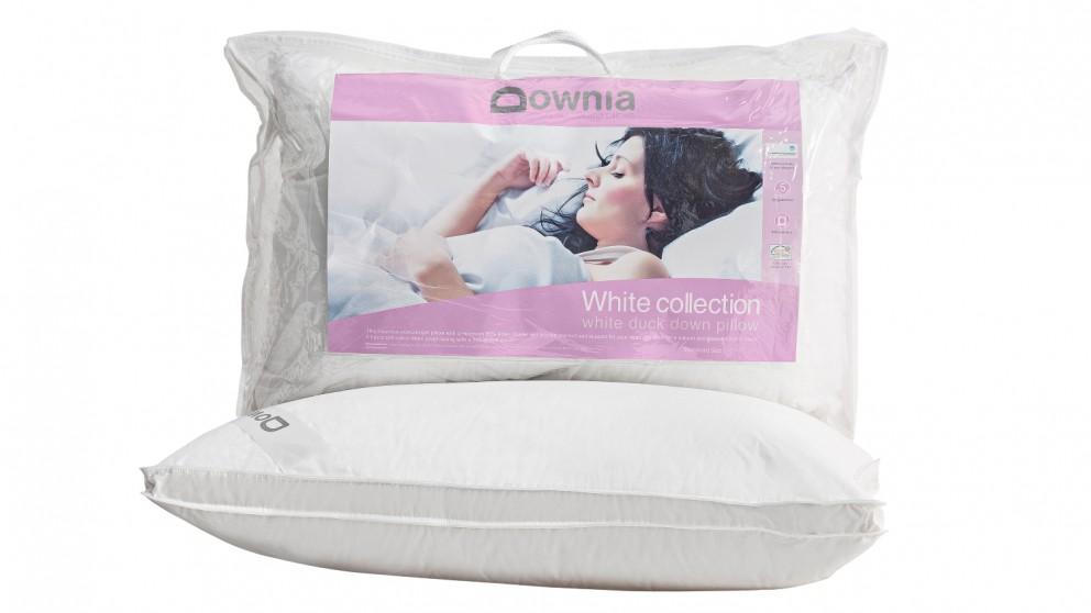Downia White Duck Down Pillow