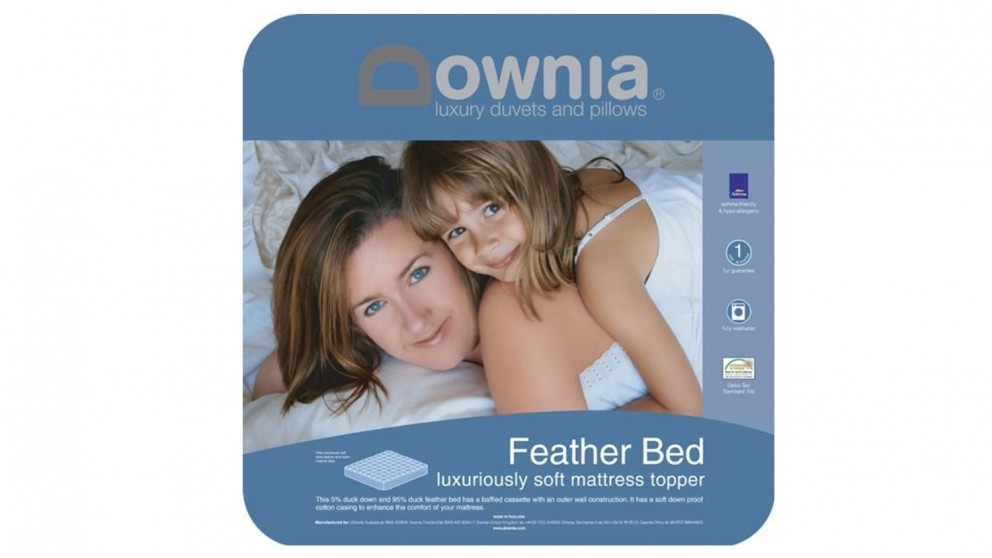 Downia Feather Bed Mattress Topper
