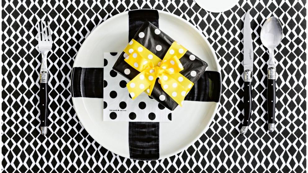 Abstract Cross Dinner Plate
