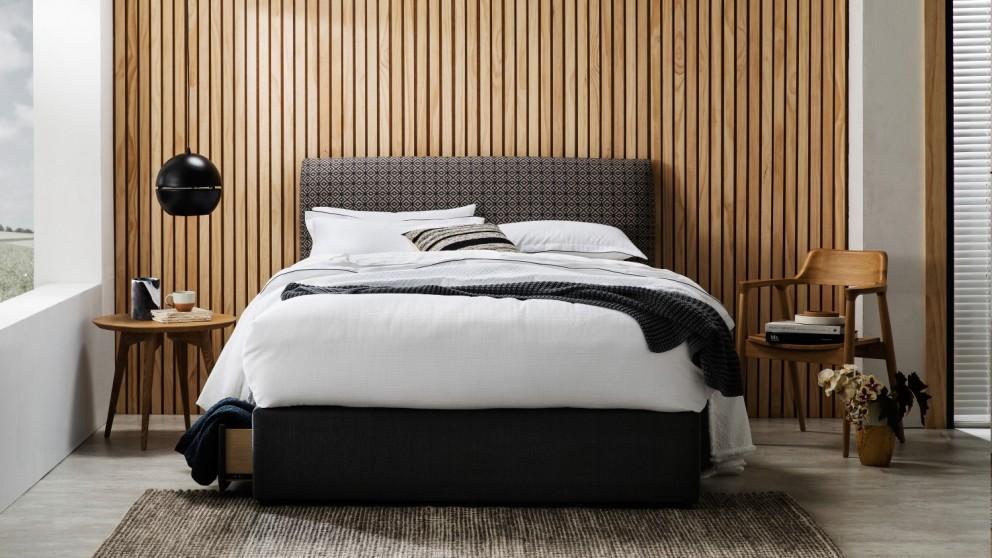 Buy Bolton Fabric Bedhead Domayne Au