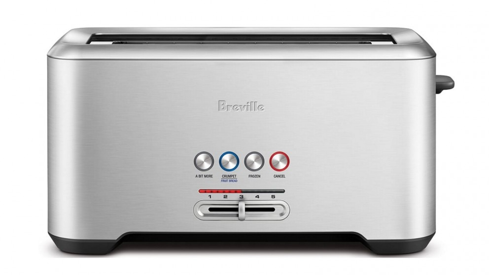 Breville The Lift and Look Pro 4 Slice Toaster - Stainless Steel