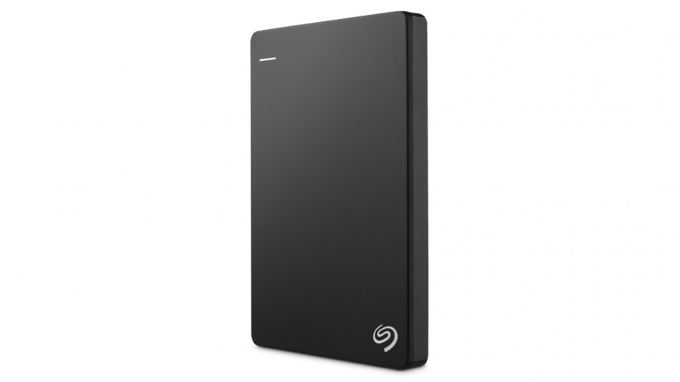 Seagate Backup Plus Slim 1TB Portable Hard Drive - Black