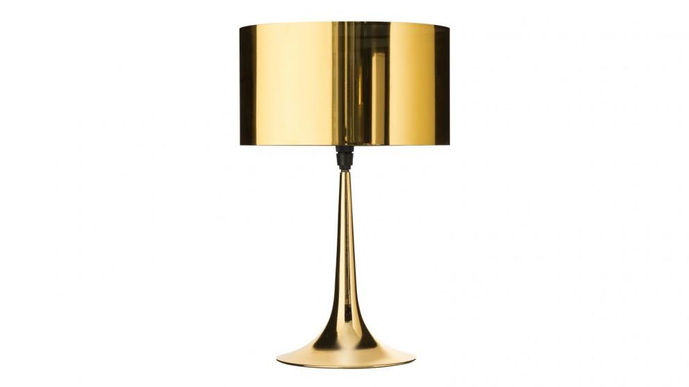 Beaker Table Lamp - Gold