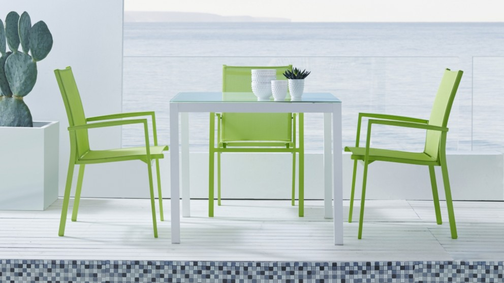 Soho Carver Dining Chair - Lime