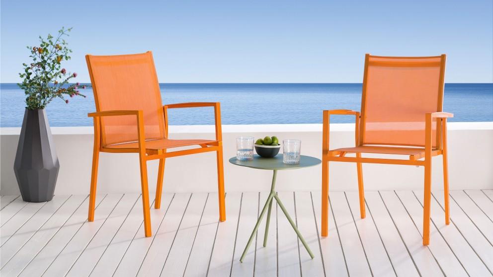 Soho Carver Dining Chair - Orange