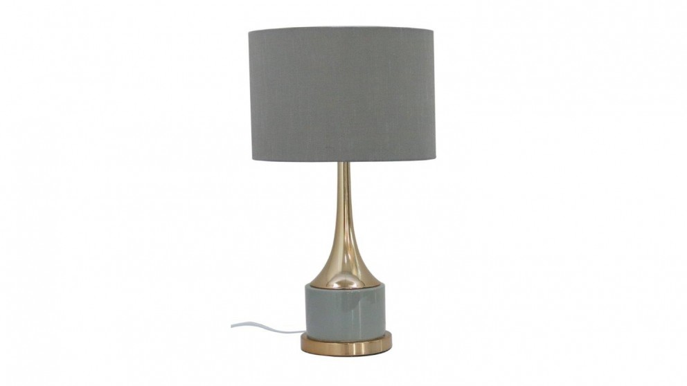 Audrey Table Lamp - Grey
